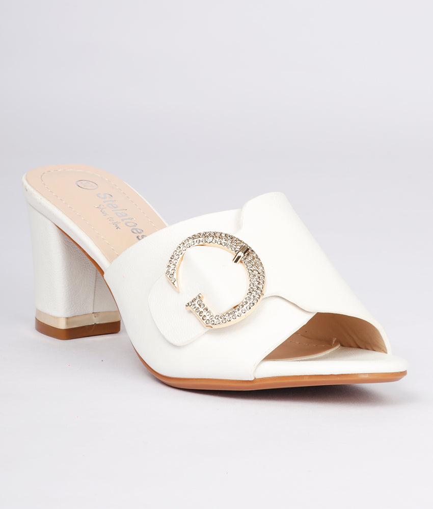 Women White Casual Slip on