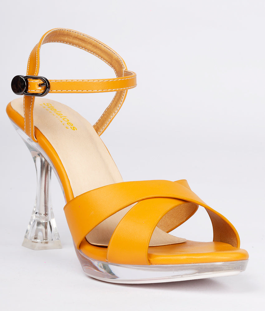 Women Yellow Urban Sandals