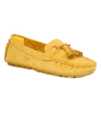 Women Yellow Casual Loafers