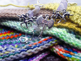HORNY-FOR-JUSTICE | Semi-precious stitch markers