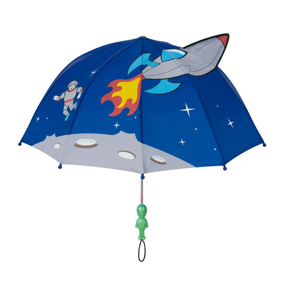 Space Rocket Umbrella with Aliens Handle
