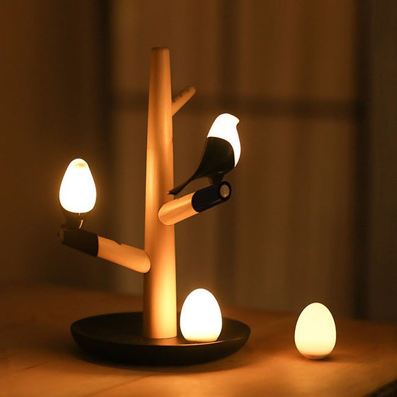 Bird Tree Branches USB LED Night Light