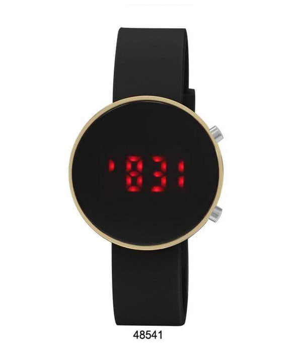 Digital LED Watch Black Band