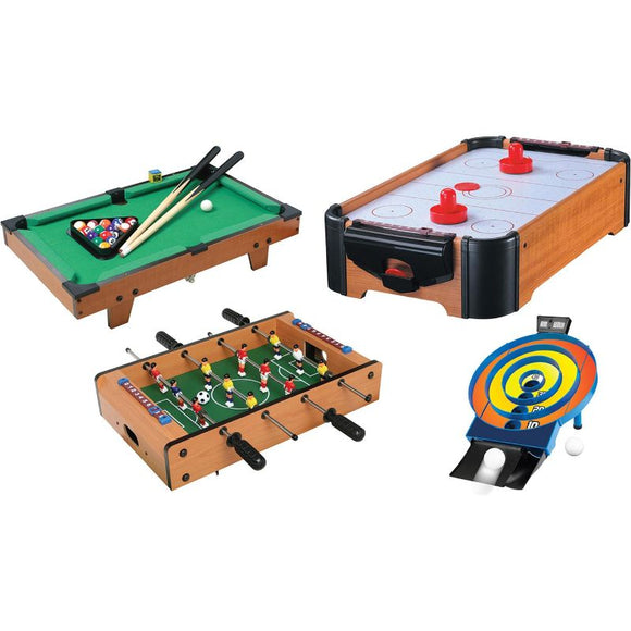 Cannonball Tabletop Game Sets - 4 Games to Choose