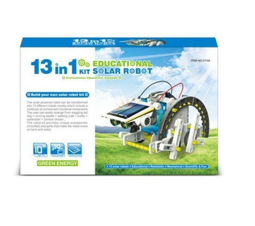 13 in 1 Solar Robot Science Technology
