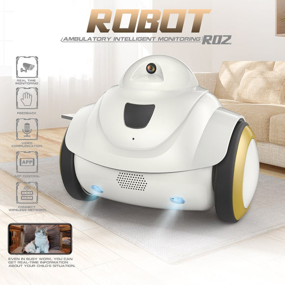 Robot Pet Dog & Cat Camera WiFi Camera Home Security