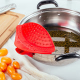 Chef's Planet Clip & Drain Strainer