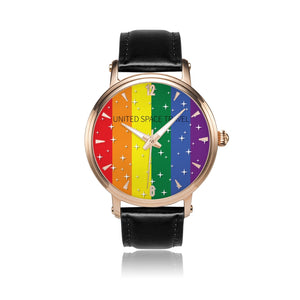 United Space Travel Rainbow Automatic Watch