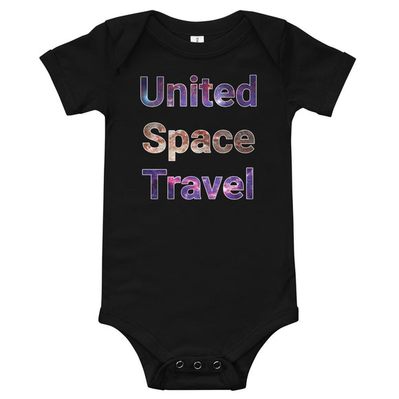 United Space Travel Galaxy T-Shirt