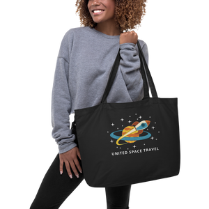 United Space Travel Large organic tote bag