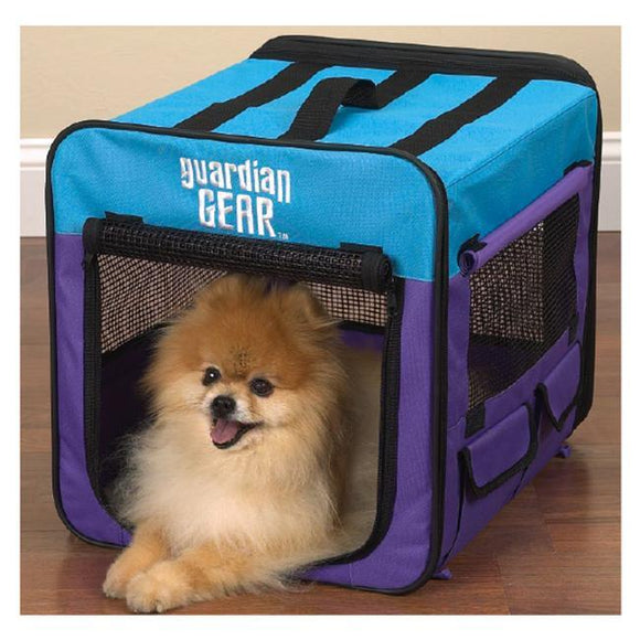 Pet Guardian Gear Collapsible Crate Xs Purple