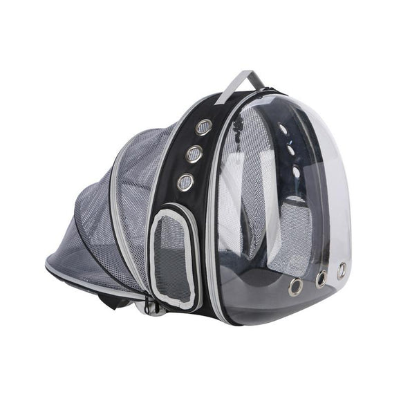 Portable Pet Cat Dog Backpack Foldable Multi-Function Carrier Bag Large Space Capsule Bubble Shoulder Backpack Tent Cage