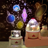Dimmable Planet Magic Projector Light Bedroom Decor Star Universe