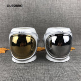 Creative Astronaut Space Helmet Ceramics Handel Coffee Large Volume Mug Office Mugs Cup Color Box For Gifts