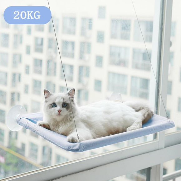Cat Resting Seat Perch Window Hammock Pet Hanging Sleeping Beds Mount