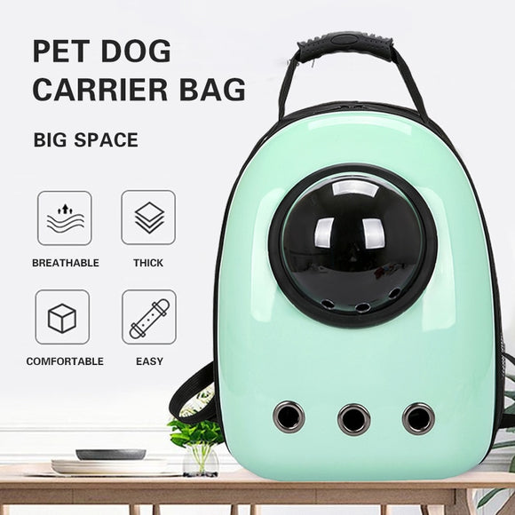 Space Capsule Pet Cat Backpack Breathable Outdoor Travel Double Shoulder Bag For Cats Dogs Durable Carrier Pet Carrying Supplies
