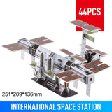Classic Jigsaw 3D Puzzle Space Detector Aerospace Model Assembled Building Model Puzzle Toys