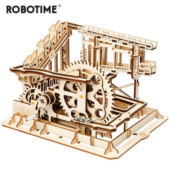 Cog Coaster Magic Creative Marble Run Game Wooden Model Building
