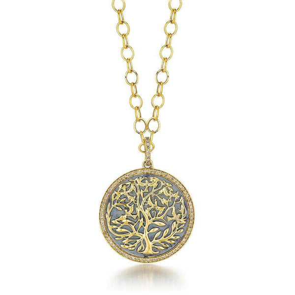Jardin Large Tree of Life Pendant