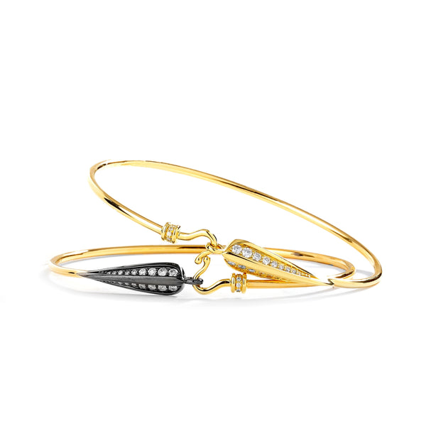 Jardin Love Leaf Diamond Bracelets