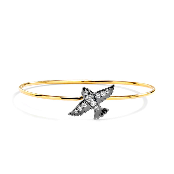 Jardin Diamond Swallow Bracelet