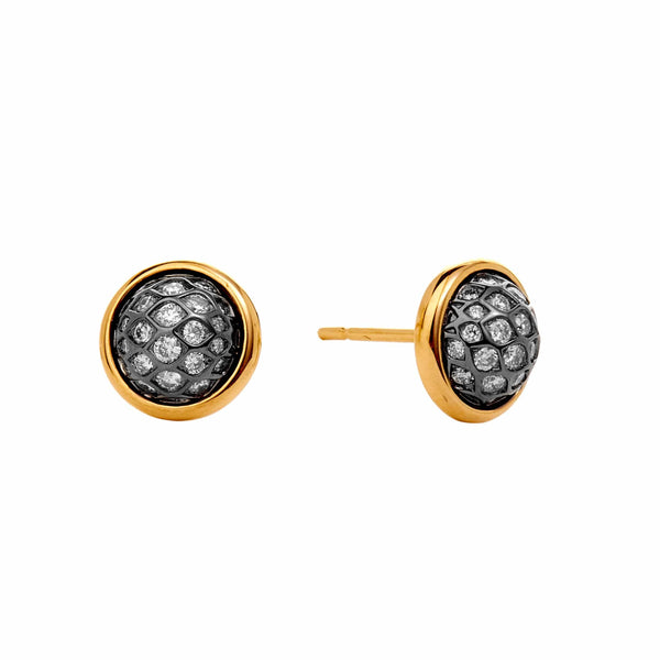 Mogul Diamond Ear Studs