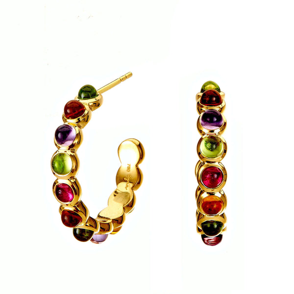 Candy Multicolor Hoop Earrings