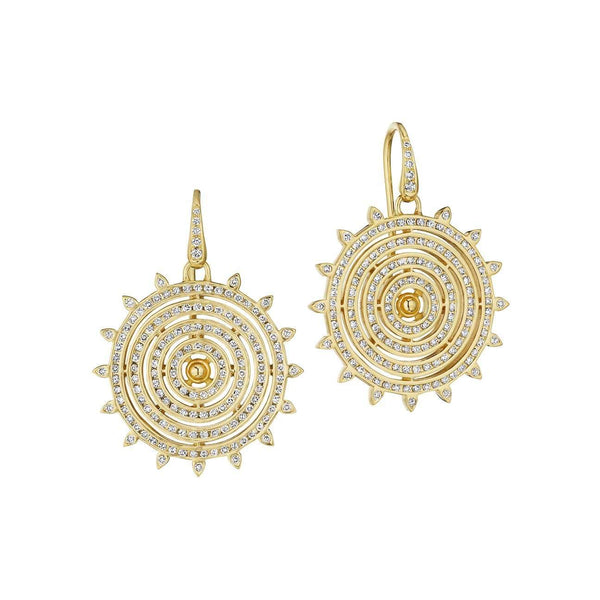 Cosmic Sun Earrings
