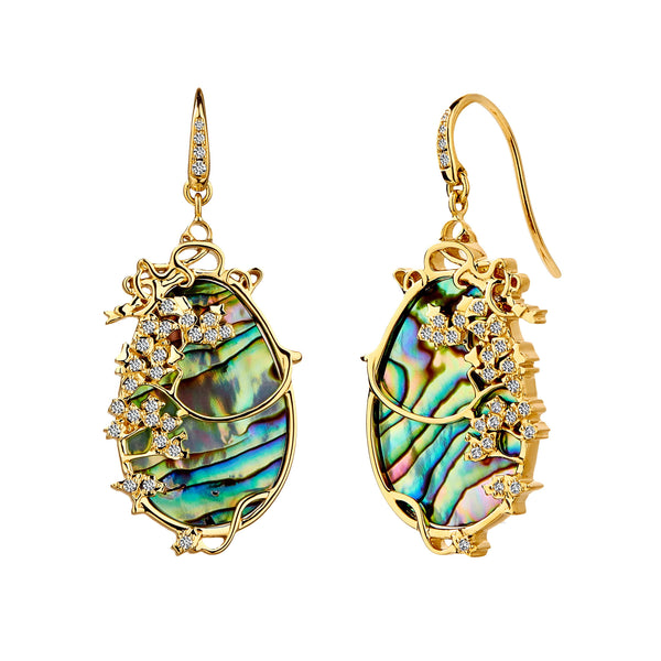 Jardin Vineyard Diamond Earrings