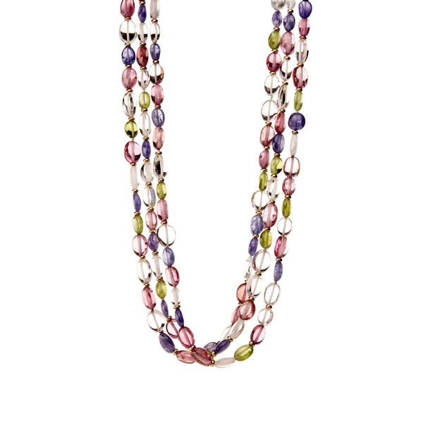 Mogul Multicolor Endless Bead Necklace