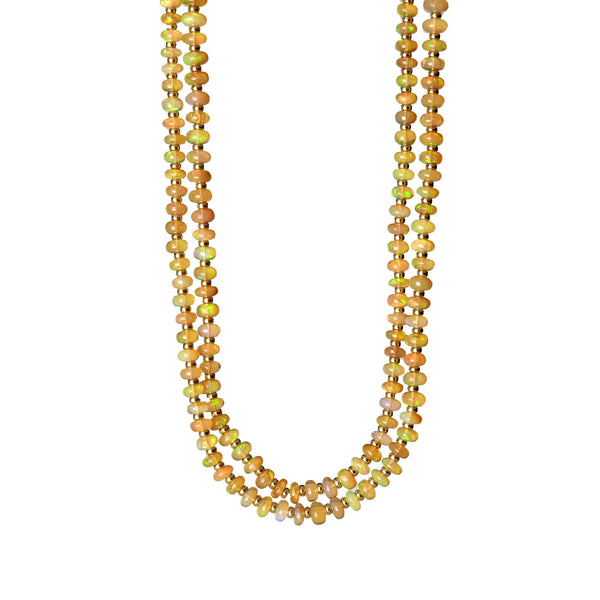 Mogul Opal Bead Necklace