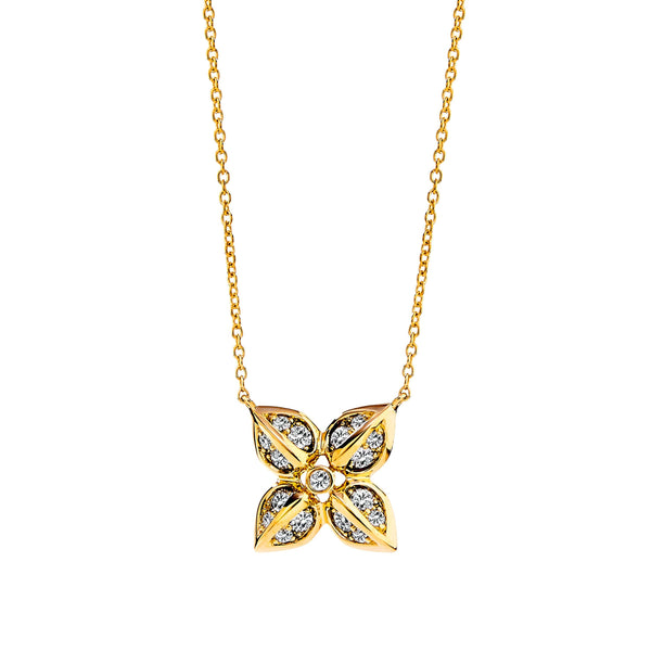 Jardin Flower Necklace