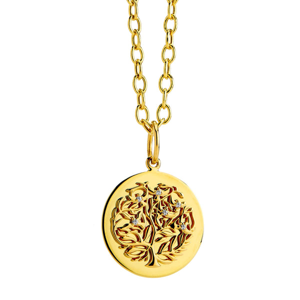 Jardin Small Tree of Life Charm Pendant