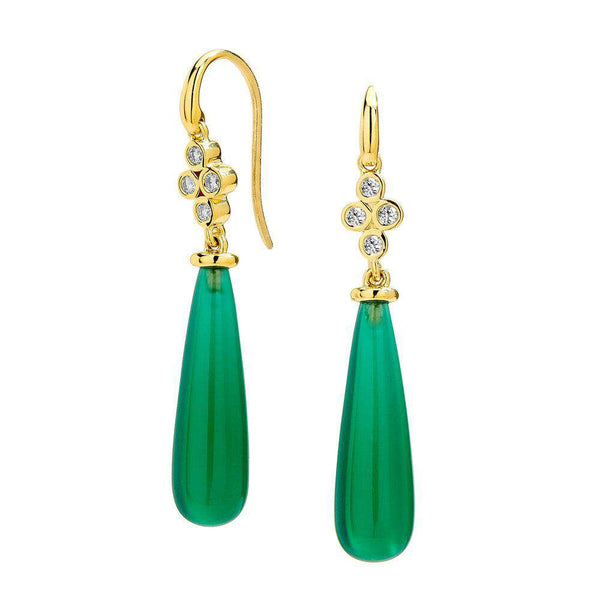 Mogul Long Drop Earrings