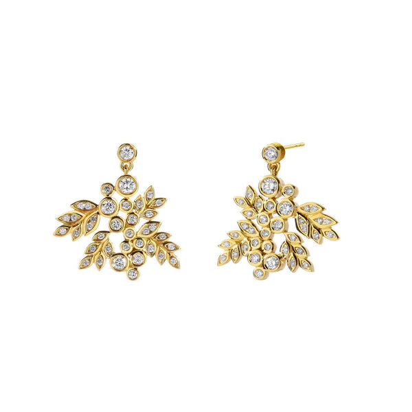 Jardin Grapevine Diamond Earrings