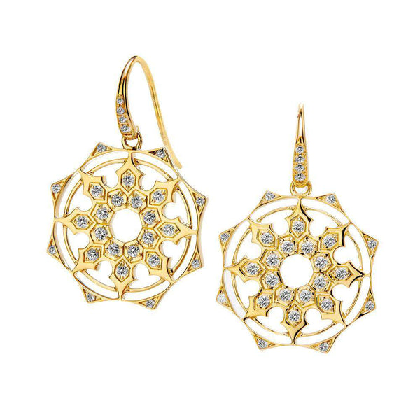 Cosmic Octa Diamond Earrings