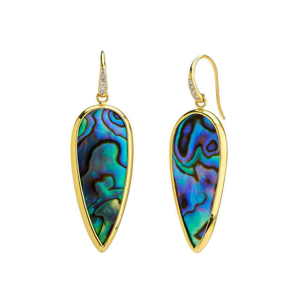 Mogul Abalone Earrings
