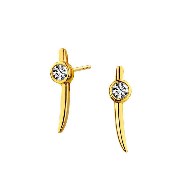 Mogul Mini Diamond Dagger Studs