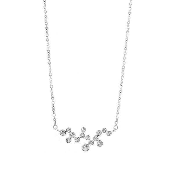 Cosmic Diamond Constellation Necklace