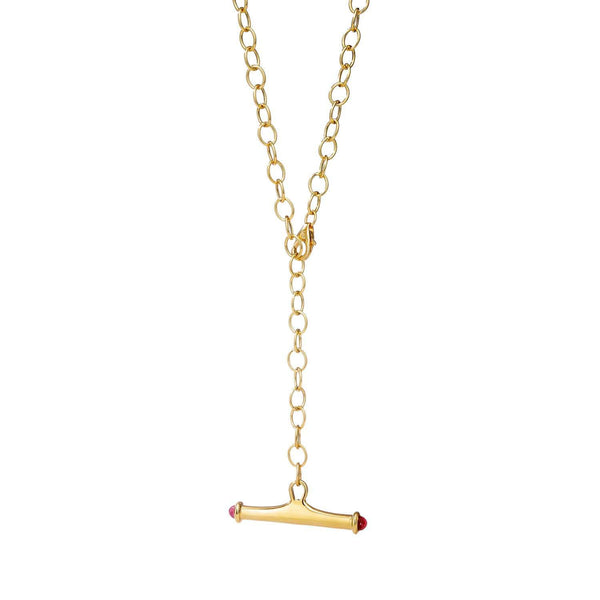 Mogul Gold Toggle Necklace