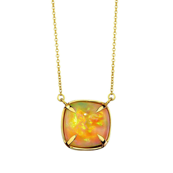 Opal Sugarloaf Necklace