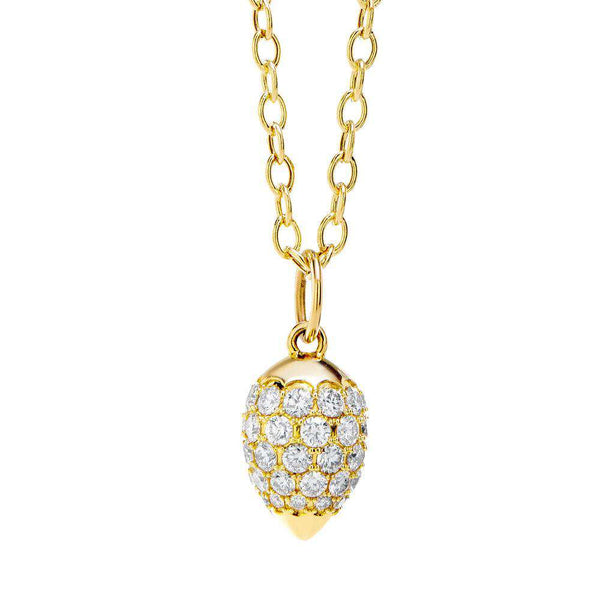 Mogul Diamond Drop Pendant