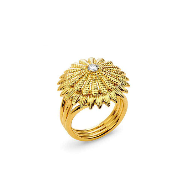 Jardin Cactus Diamond Ring