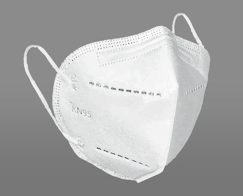 KN95 Premium Disposable Filtering Masks - 10 Pack