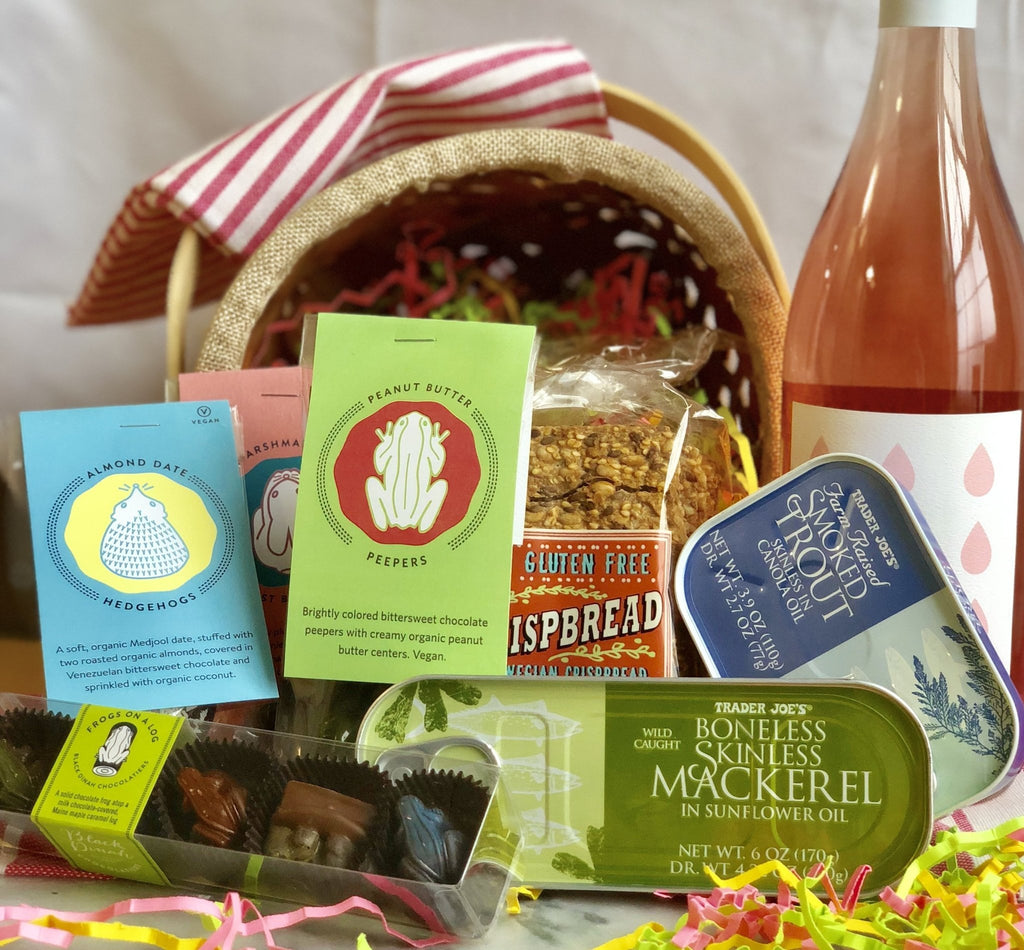 Easter Baskets for Grown-Ups