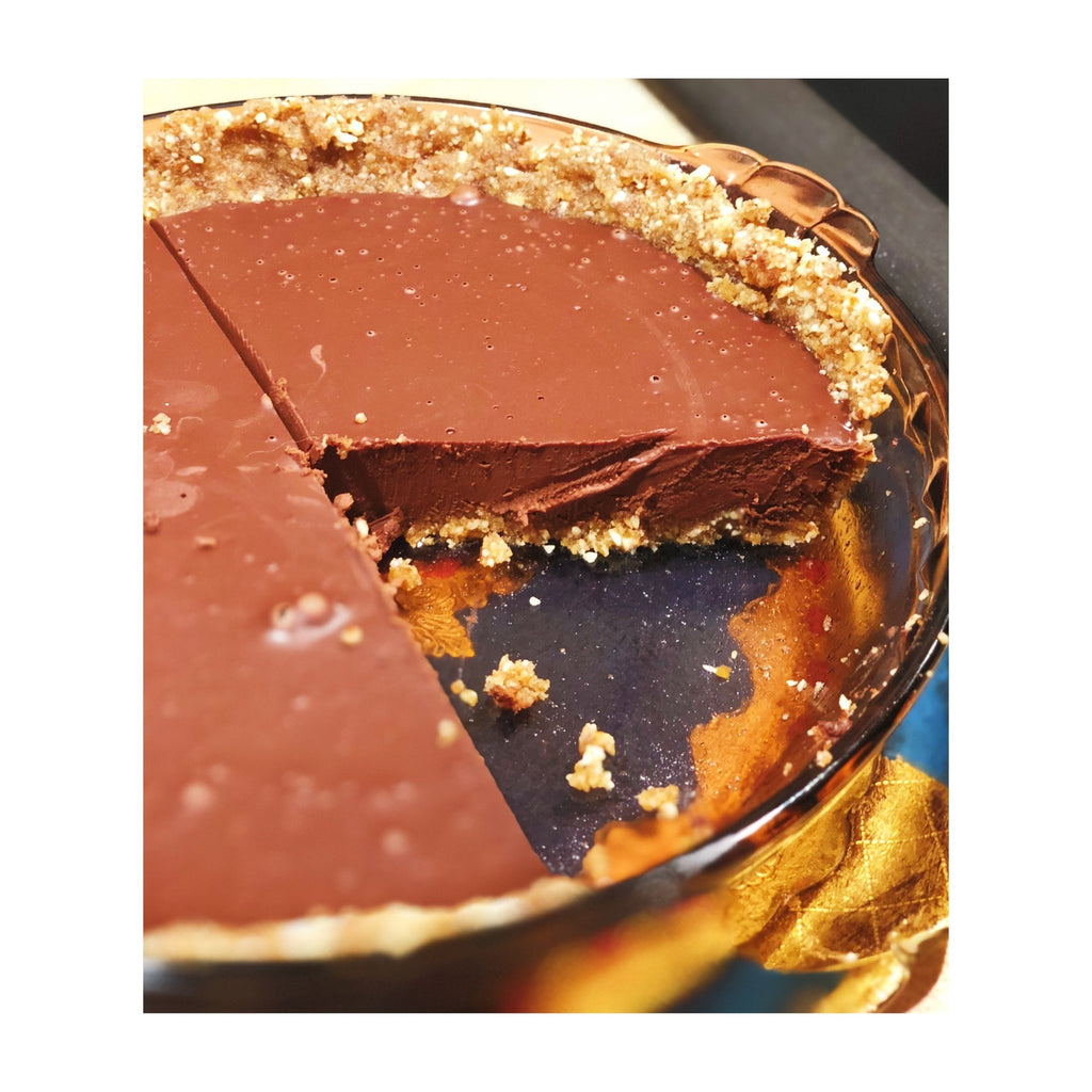 Recipe: Easy-Peasey No-Bake Bittersweet Chocolate Pie