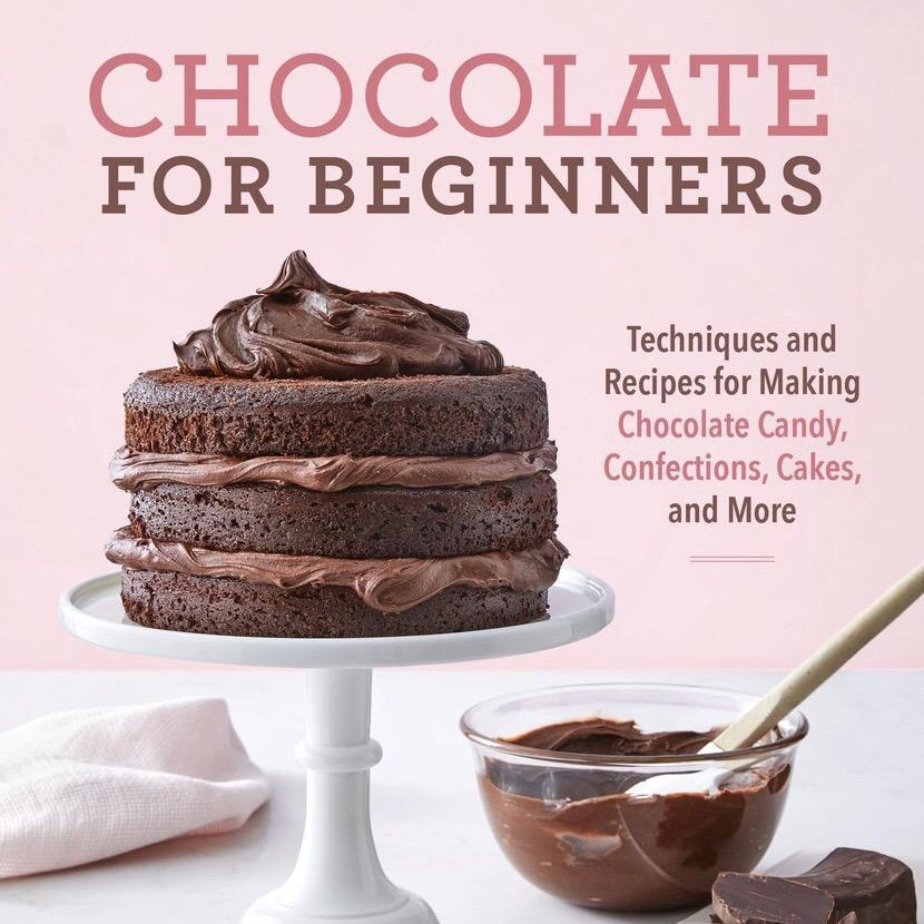 Recipe from my new cookbook, Chocolate for Beginners!