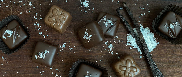 Chocolate Caramels and Sea Salt