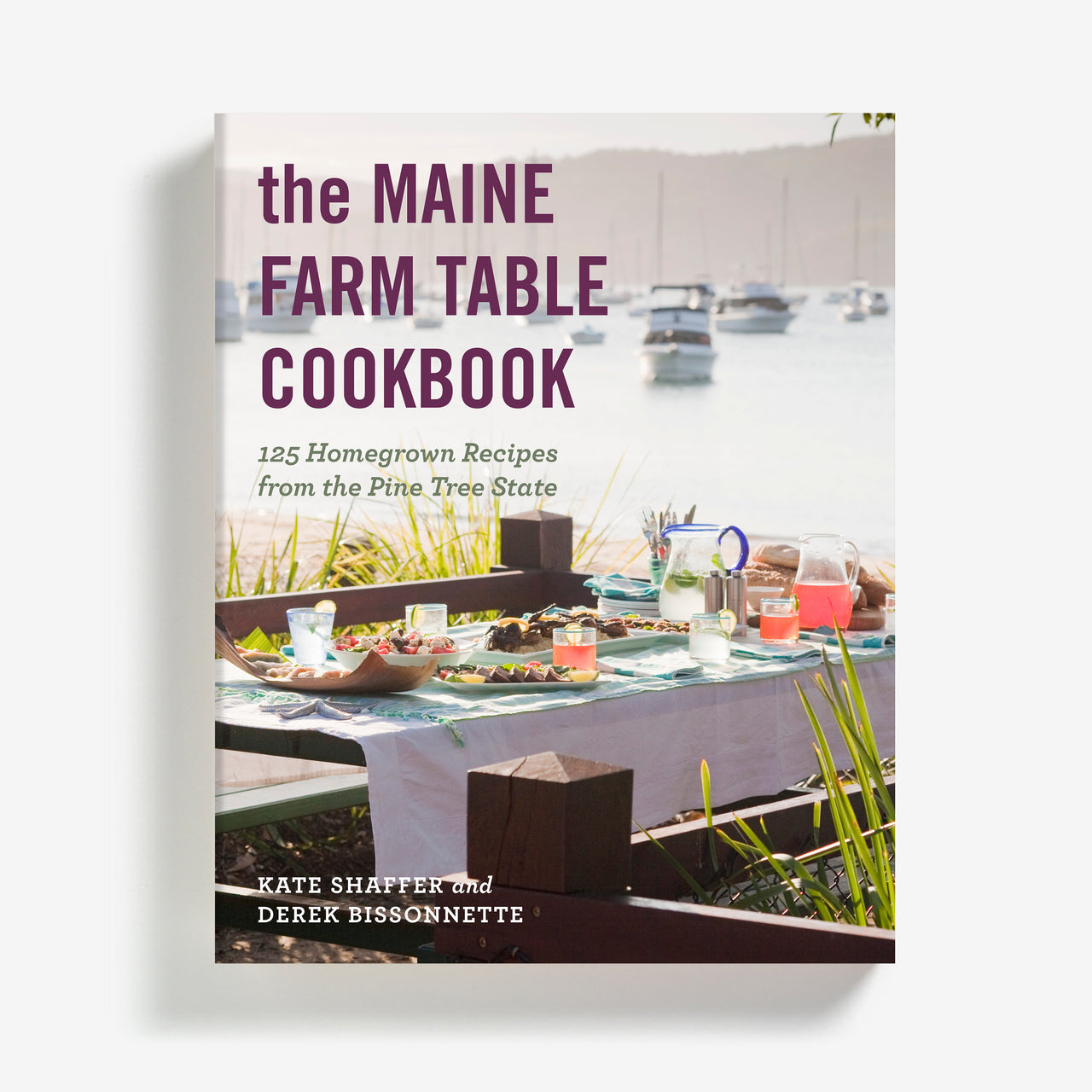 The Maine Farm Table Cookbook, signed by the author - PREORDER ONLY