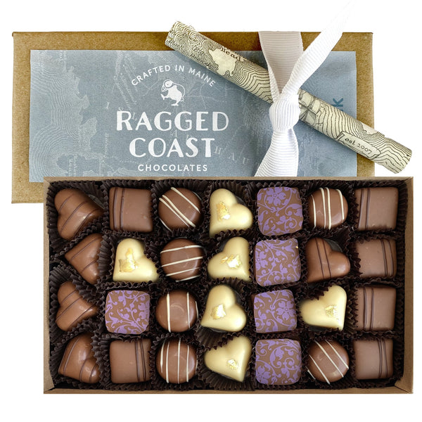 Milk Chocolate Truffle Collection - raggedcoastchocolates